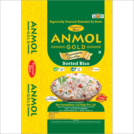 Anmol Gold 25KG Sona Masoori Rice