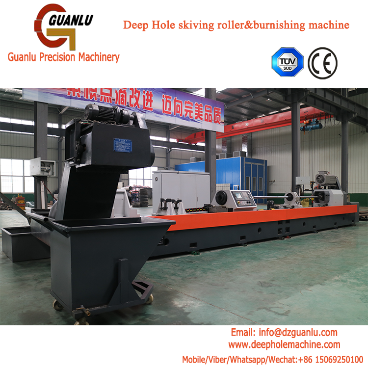 Tube Skiving and Roller Burnishing machine
