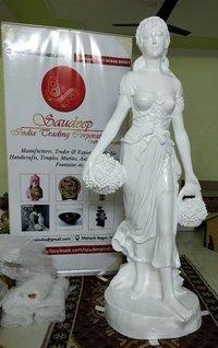 Fiber Lady Statue