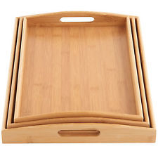 Wooden tray with hook