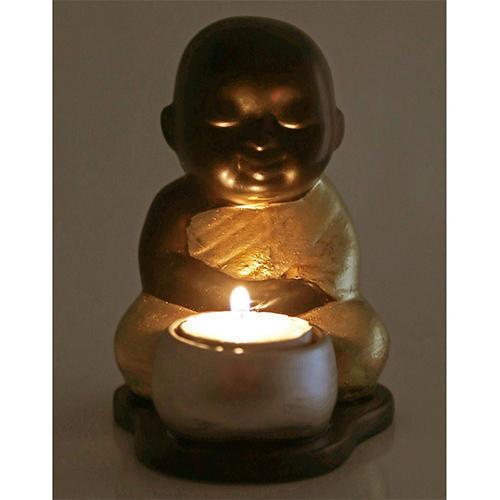 Baby Buddha T-Light Holders
