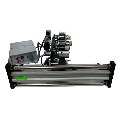 Lock And Follow Color Ribbon Pneumatic Coding Machine