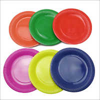 Colorful Paper Plate