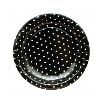 Dotted Paper Plate