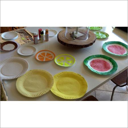 Paper Plate Paint
