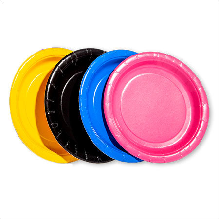 Colorful Disposable Plate