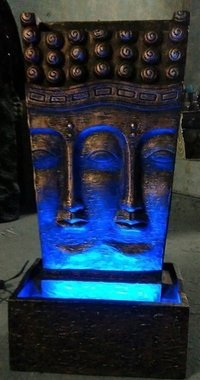 Buddha Fountain (Poly Resin, Fiber)