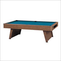 Antique Wooden Pool Table