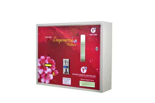 Coin Operated Sanitary Napkin Vending Machine