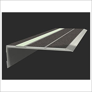 Aluminium Photoluminescent Stair Treads