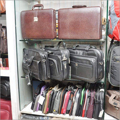 Leather Suitcase & Laptop Bags