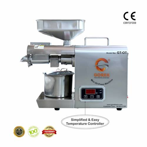Oil Extractor for Home With Temperature Controller