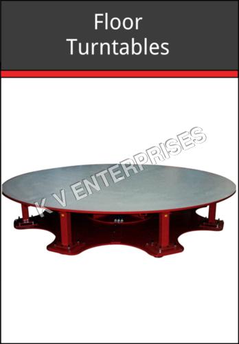 Floor turntable