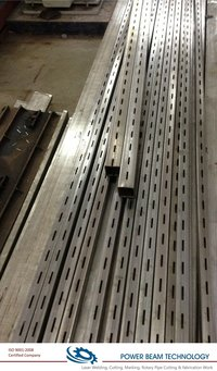 Slotted Channel Laser Cutting