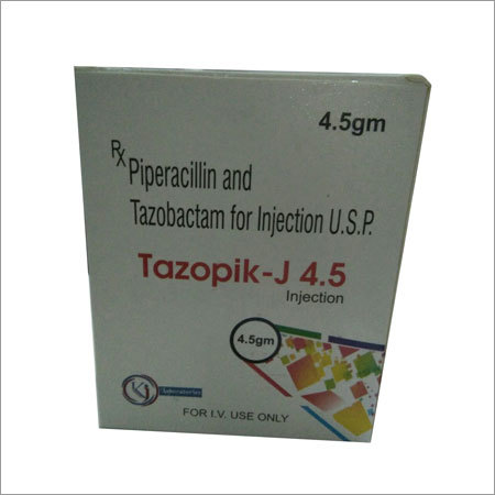 Piperacillin  Tazobactum 4.5 gm injection