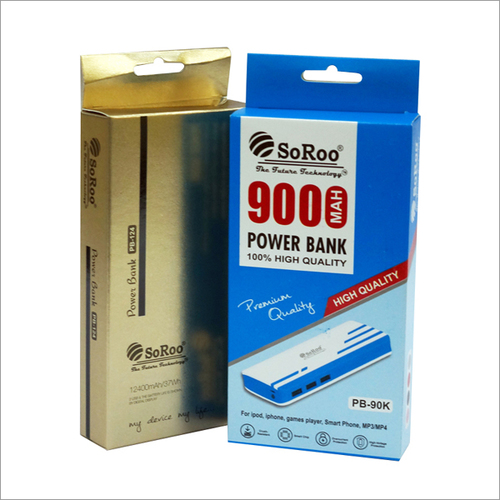 Power Bank Packaging Boxes
