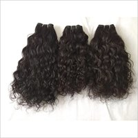 Raw Curly Indian Hair, Chemically Free