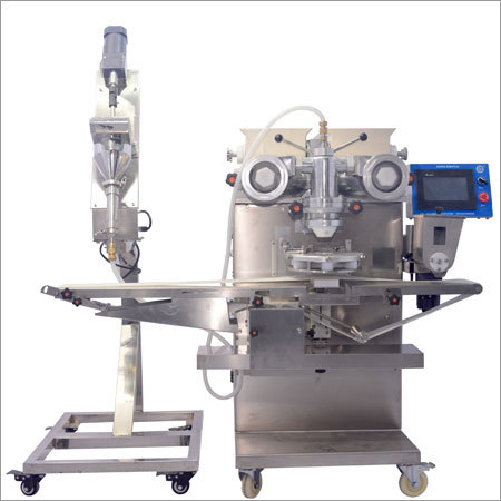 Encrusting Machine With Liquid Filling