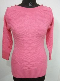 Ladies Self Top Sweater