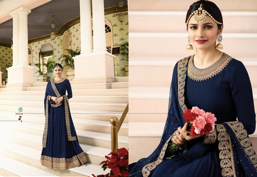 Georgette Gown style Suit
