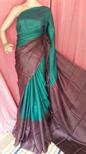 Exclusive Silk Block Print Saree