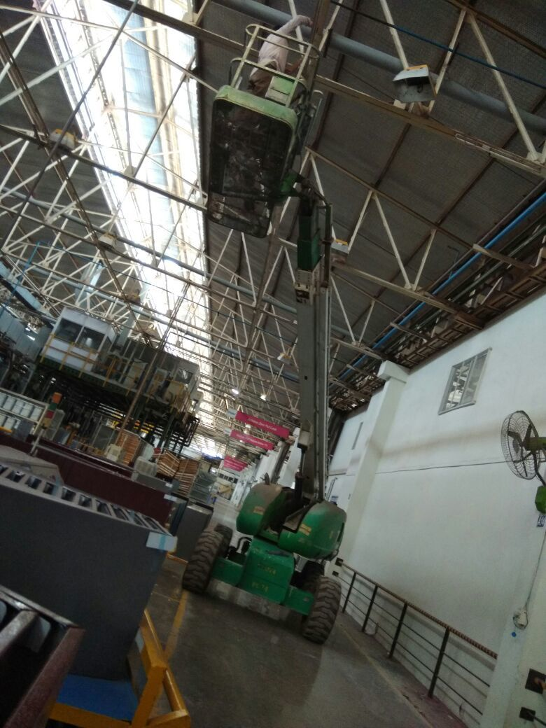 Industrial Structure Cleaning - Swachha Services