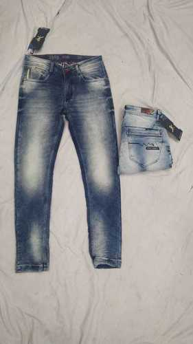 Mens Denim Jeans Torn