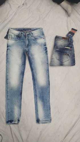 Mens Straight Fitting Designer Jeans