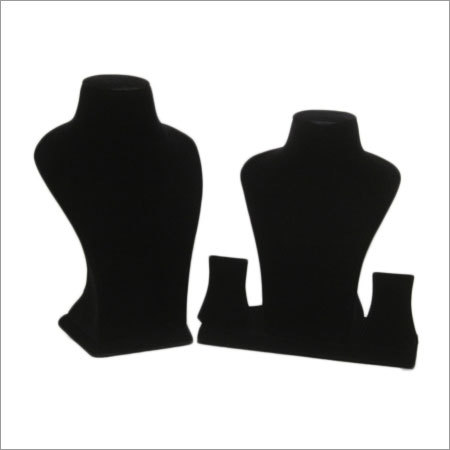 Suade Display Neck Bust