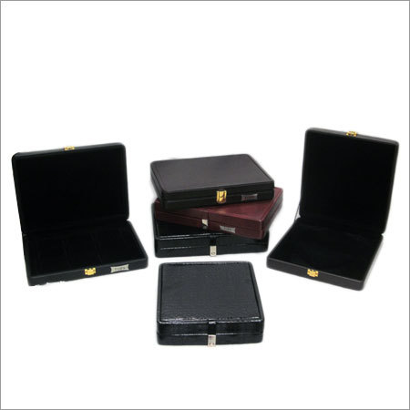 Leatherite Stock Boxes For Jewellery
