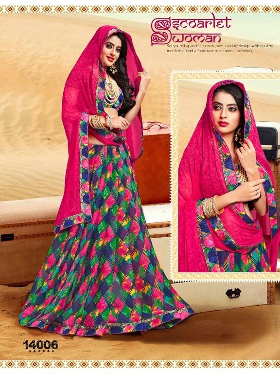Fancy Georgette Printed Saree