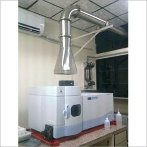 SS Ducting - Exhaust Hood For AAS -ICP