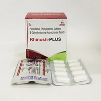 PHENYLEPHARINE 5MG+CAEFEINE 30MG+PCM 500+DIPHENYRAMINE 25 MG