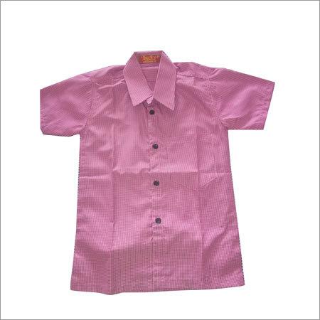 Pink School Shirt