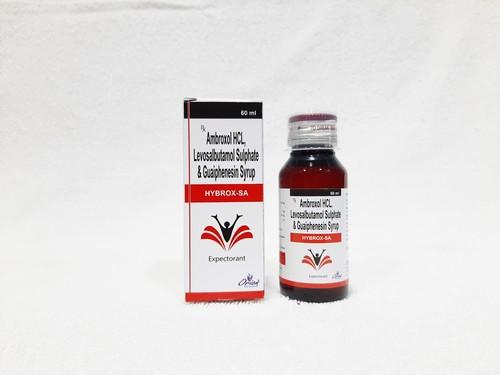 Levosalbutamol Sulphate, Ambroxol Hydrochloride and Guaiphenesin Oral Drop