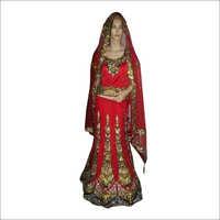 Ladies Designer Embroidery Ghagra Choli