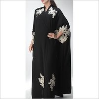islamic Black Long Kaftan dress