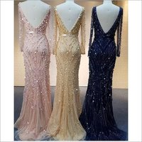 Backless Ladies Gowns