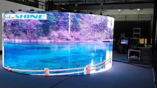 led wall for events