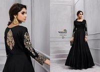 Designer Gown Silk Dresses
