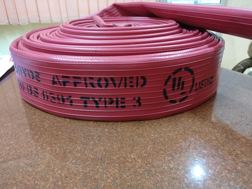 High pressure fire hose