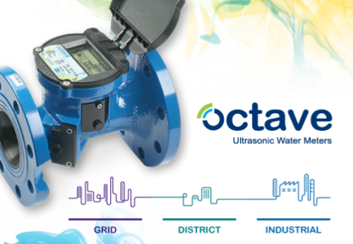 Octave Ultrasonic Water Meter