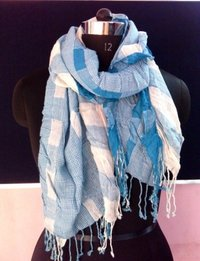 Lycra Check scarf