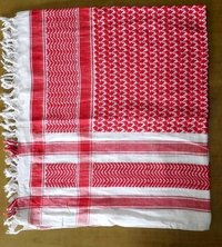 red and white arafat