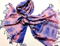 Tie Dyed Dobby Scarf