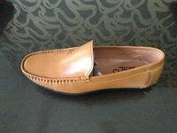 CASUAL  LOAFER STYLISH DESIGN FOR MEN'S IN TAN COLOUR