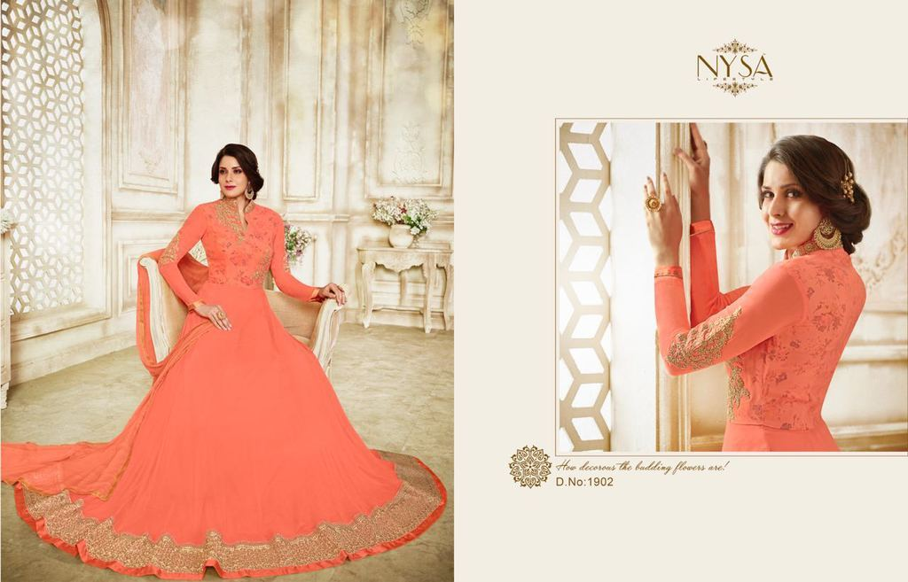 Anarkali Gown Suits Online Shopping