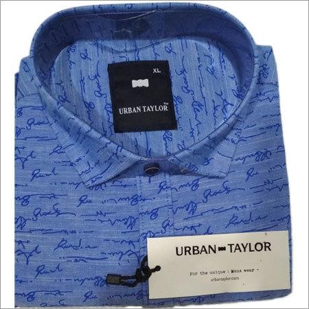 Men's Printed Semi Casual Printed Shirt