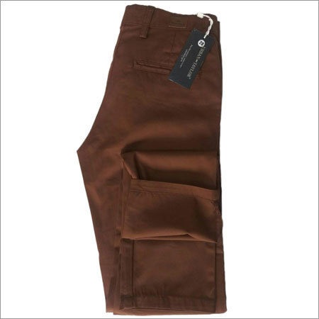 Brown Formal Trousers