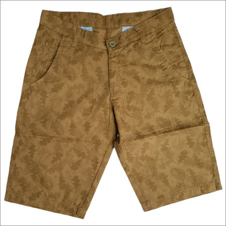 Men's Brown Shorts